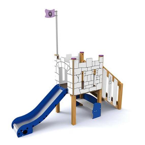 Offrir une aire de jeux aux enfants du relais parental Coup d'pouce
